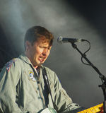James Blunt au symphonie à la tour Photographie stock libre de droits