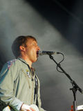 James Blunt an der Symphonie am Turm Stockfotografie