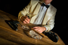James Bond fotos de stock royalty free