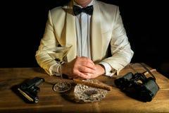 James Bond imagem de stock
