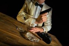 James Bond fotografia de stock