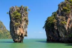 James Bond-eiland Royalty-vrije Stock Afbeelding