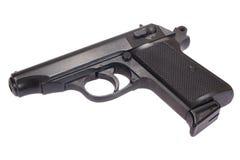 James bond handgun. James bond favorite handgun - walter Royalty Free Stock Photography
