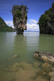 James Bond Island. Khao Phing Kan island aka James Bond Island in southern Thailand Stock Images