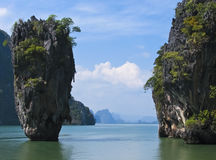 James Bond Island. Famous James Bond Island in Thailand Royalty Free Stock Photography