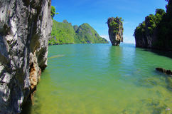 James bond island royalty free stock photography