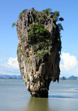 James Bond Island. The island made famous by James Bond film Stock Image