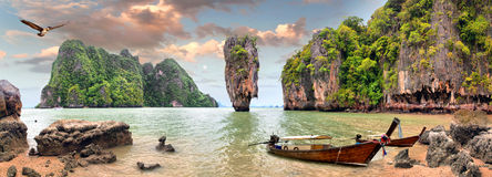 James Bond Island Arkivfoto