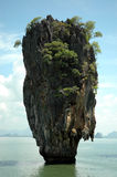 James Bond Island. Landmark of James Bond Island Royalty Free Stock Photos