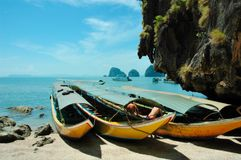 James Bond Island. Landscape of James Bond Island Stock Images