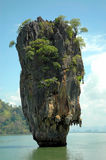 James bond island. Landmark of james bond island Stock Images