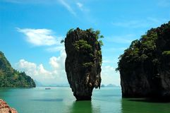 James Bond Island. Landmark of James Bond Island Stock Photos