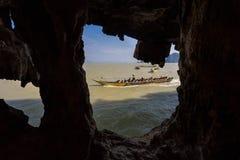 James Bond Island, baie de Phang Nga, Thaïlande Photo libre de droits