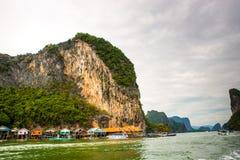 James Bond Island Breathtaking View in Tailandia fotografia stock libera da diritti