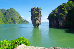 James bond island i Royalty Free Stock Image