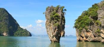 James Bond Island. (Khao Phing Kan, Ko Tapu), Phang Nga Bay, Thailand Royalty Free Stock Image