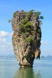 James Bond Island. (Khao Phing Kan, Ko Tapu), Phang Nga Bay, Thailand Royalty Free Stock Images