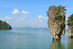 James Bond Island. (Khao Phing Kan, Ko Tapu), Phang Nga Bay, Thailand Royalty Free Stock Photo