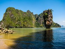 James Bond Island (Khao Phing Kan), Thailand Stock Images