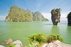 James Bond Island or Khao Tapu Island Royalty Free Stock Photos