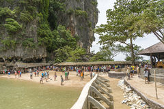 James Bond Island (Ko Tapu), Thailand Royalty-vrije Stock Foto's