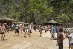 James Bond Island (Ko Tapu), Thaïlande Image stock