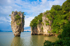James bond island landmark of Phang-nga bay Royalty Free Stock Photography