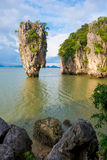 James bond island landmark of Phang-nga bay :: Thailand Stock Photo