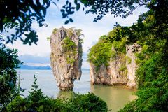 James bond island landmark of Phang-nga bay :: Thailand Stock Images