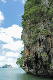 James Bond Island is a limestone located Royalty Free Stock Images