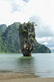 James Bond Island is a limestone located Stock Images