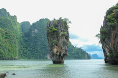 James Bond Island is a limestone located Stock Photo