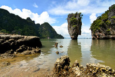 James Bond Island. Royalty Free Stock Photos