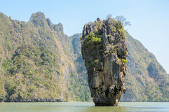 James Bond Island in Phang Nga Bay, Thailand Royalty Free Stock Photos