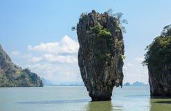 James Bond Island in Phang Nga Bay, Thailand Stock Photography