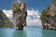 James Bond Island in Phang Nga Bay, Thailand. Royalty Free Stock Photo