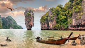 James Bond Island. Phang Nga, Thailand Stock Photos