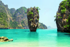 James Bond Island, Phang Nga, Thailand Stock Image