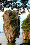 James Bond Island in Phuket, Thailand Royalty Free Stock Photo