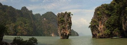 James Bond island. Phuket. Thailand Stock Photography