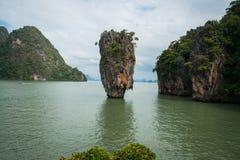 James Bond island, Prang Na, Thailand Royalty Free Stock Photo