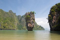 James bond island ro Khao Tapu Stock Photography