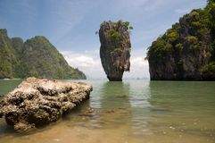 James bond island ro Khao Tapu Stock Photo