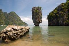 James bond island ro Khao Tapu Stock Photo