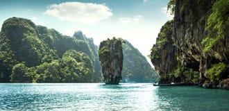 James Bond Island, Thailand. James Bond Island in Thailand Stock Images