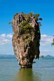 James Bond Island in Thailand Stock Photo