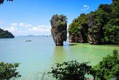 James bond island in thailand. Ko tapu Stock Photography