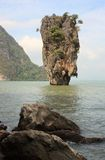 James Bond island. Thailand. Stock Photography