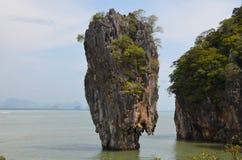 James Bond Island 2. James Bond Island in Thailand Stock Photo