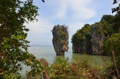 James Bond Island 3. James Bond Island in Thailand Stock Photos